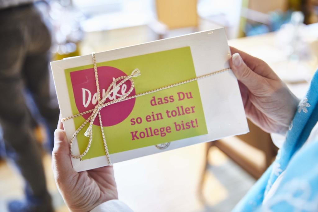 Foto: Postkarte: Danke, dass du so ein toller Kollege bist